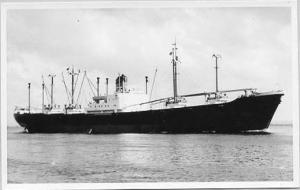 Cargo Ship    *RPPC