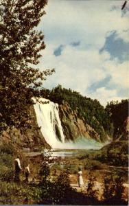 Montmorency QC, Quebec, Canada - Montmorency Falls