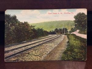View Of Pennsylvania Rail Road, Reading, PA. C2
