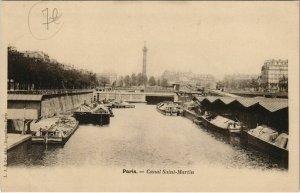 CPA Paris 12e - Canal Saint-Martin (55931)