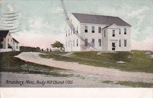 Rock Hill Church 1785 Amesbury Massachusetts 1908