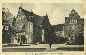 poland, POZNAN POSEN, Universität, Gauhauptstadt an der Warthe (1941) Postcard