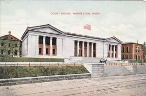 Massachusetts Worcester Court House