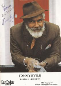 Tommy Eytle as Jules Tavernier BBC Eastenders Hand Signed Cast Card Photo