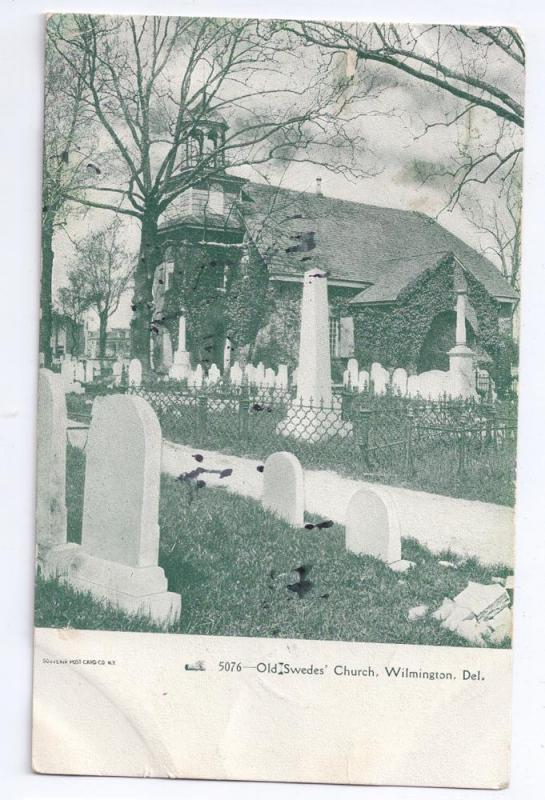 Old Swedes Church Wilmington DE 1906 UDB Port Penn Doane