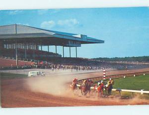 Unused Pre-1980 HORSE RACING TRACK Atlantic City New Jersey NJ hn1134
