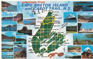 Multi-Views, Greetings From Cape Breton Island And Cabot Trail, Nova Scotia, ...