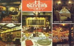Oliver ! S Old Bailey, Main & Lombard Winnipeg Canada Unused