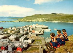 Norway hammerfest Part Of The Harbour Area