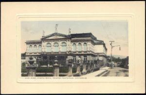 costa rica, SAN JOSE, Teatro National Exterior, Theatre (1916)