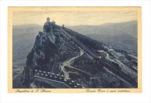 Repubblica di S. Marino, Seconda Torre e mura castellana, 00-10s