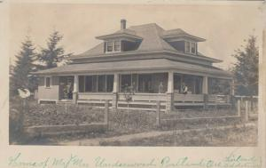 RP, PORTLAND , Oregon , 00-10s ; Mr  Mrs Underwood's Home
