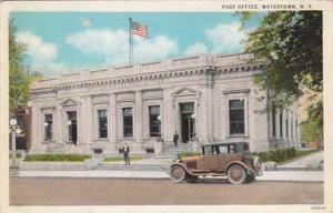 New York Watertown Post Office Curteich