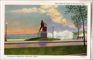 Fisherman's Memorial, Gloucester MA