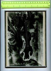 255884 ITALY GENOA violin of Paganini Ilya Shpilberg donative