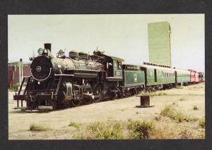 FL Gold Coast Train Railroad MIAMI FLORIDA Postcard RR