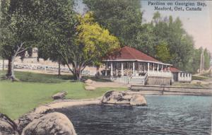 MEAFORD , Ontario , Canada , PU-1929; Pavilion on Georgian Bay