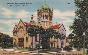Florida Saint Augustine Memorial Presbyterian Church The Oldest City In The U...