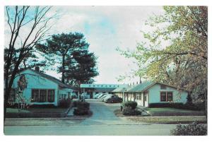Ames Tourist Court Iowa Vintage Motel Motor Inn Postcard
