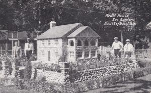 BENTON HARBOR, Michigan, 1900-10s; Model House, Zoo Gardens, House Of David Park
