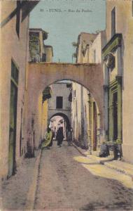 TUNIS.-Rue du Pacha , 00-10s