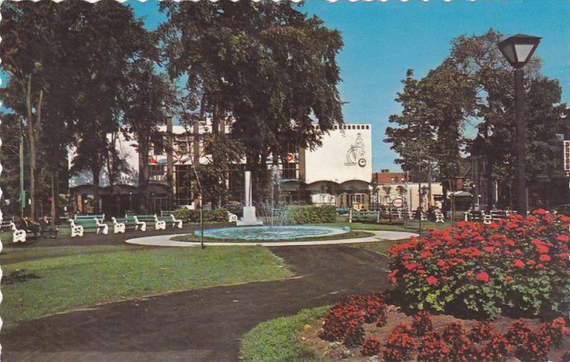 Le Parc St-Frederic, Drummondville,  Quebec,  Canada,  40-60s