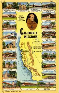 CA - Missions (21 Views) and Map
