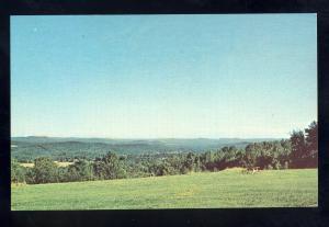 Shelburne Center, Massachusetts/Mass/MA  Postcard, Springbrook Farm Camp Area