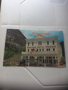 Vintage Postcard:Western Hotel Museum, Ouray CO