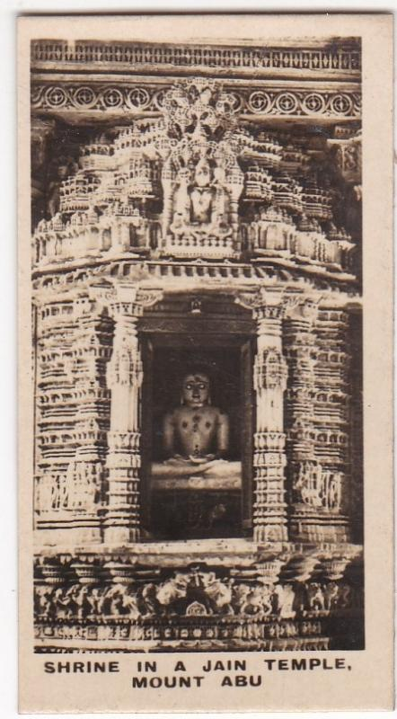 Cigarette Card Westminster : Indian Empire (Second Series) No. 38 Mount Abu