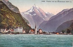 Switzerland Fluelen und der Bristenstock 1910
