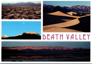 California Death Valley National Monument Multi View
