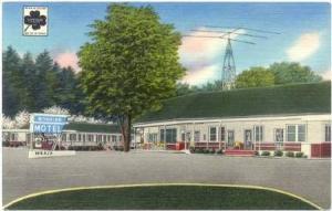 Bonaire Motel, Hendersonville, North Carolina, 20-40