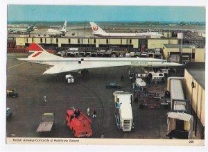 1979 British Airways Concorde Heathrow Airport - Posted Charles Skilton Series
