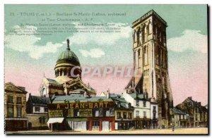 Tours Old Postcard Basilique Saint Martin (Laloux Jean Bart)