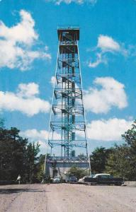 165 foot steel observation tower, Summit of Hot Springs Mountain, Hot Springs...