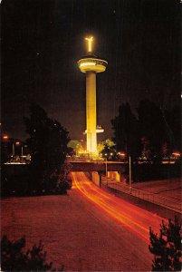 B108949 Netherlands Rotterdam Holland Euromast Tower Tour Night view
