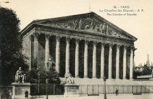 France - Paris, The Chamber of Deputies