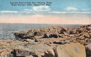 Pigeon Cove Massachusetts Cape Ann Waterfront Antique Postcard K69230
