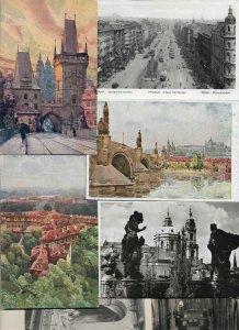 Czech Republic - Prague Praha Prag Lot of 14 01.04