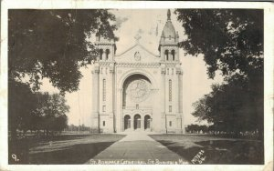 Canada St Boniface Cathedral RPPC 05.62