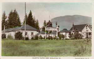 RP : REVELSTOKE , B.C. , 1930-40s ; Elliott's Tourist Camp