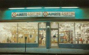 ROCKVILLE CENTRE , New York , 1950-60s ; AIMRITE Lighting Fixtures Store