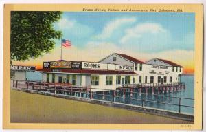 Evans Moving Picture & Amusement Pier, Solomons Md