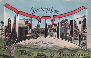 Greetings from Denver, Colorado, 30-40s