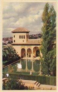 Spain Granada Alhambra Torre de las Damas
