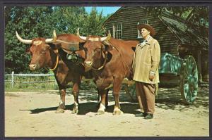 Ox Cart,Oxen,Old Sturbridge Village,Sturbridge,MA