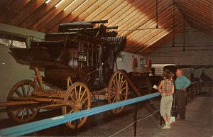 Transportation - Concord Stage Coach in the Adirondacks