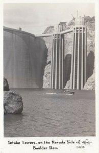 RP: Boulder Dam , Nevada , 30-40s ; Intake Towers, FRASHERS B4296