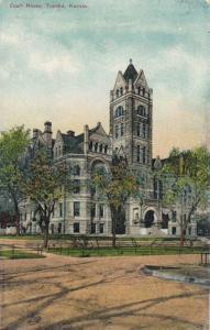 TOPEKA , Kansas , PU-1911 ; Court House